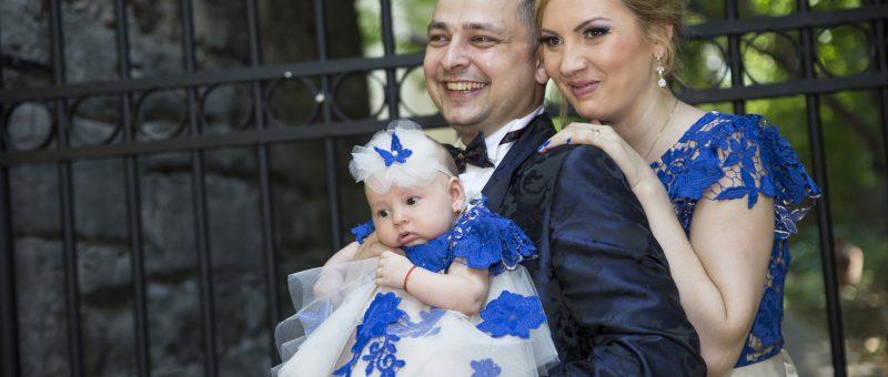 Fotograf botez Bucuresti – Ilinca Andreea – Salon Traian