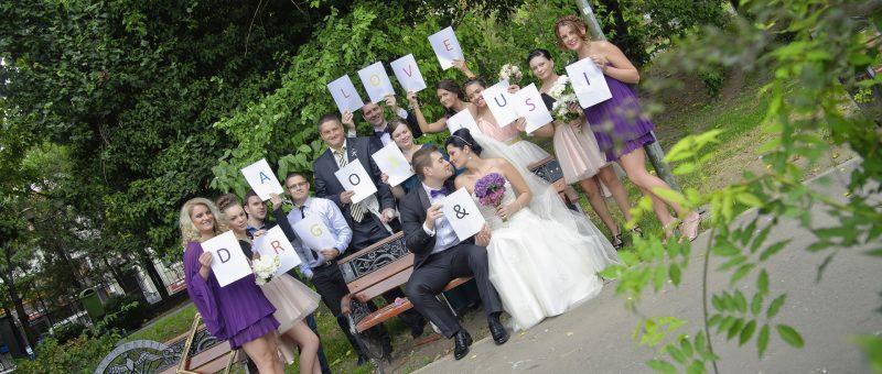 Fotografie nunta – Lusica & Dragos – Hotel Pullman, Bucuresti