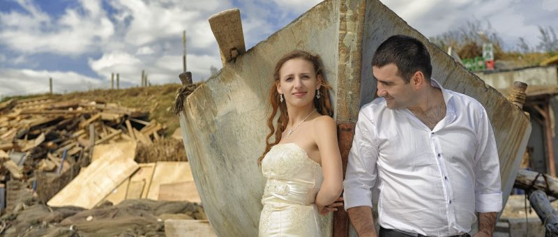 Sedinta foto Trash The Dress – Natalia & Dorin – Cap Kaliakra & Vama Veche